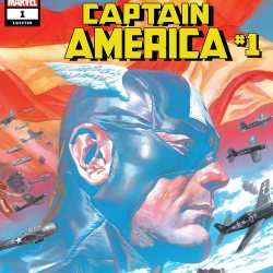 Captain America #1 featured