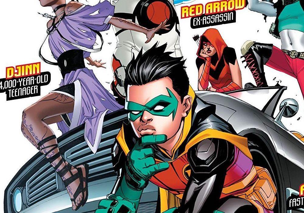 Teen Titans Parody Robin Comic - Teenager-3334