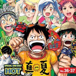 Weekly Shonen Jump August 6, 2018 Featured