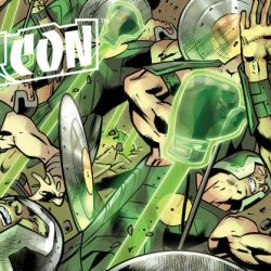 Green Lantern Constructs NYCC