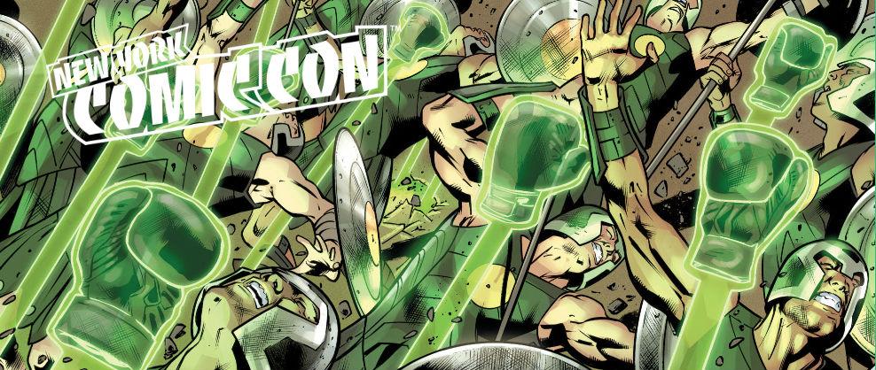 Green Lantern Constructs NYCC