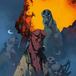 Feature: B.P.R.D.: The Devil You Know #11 (Mike Mignola cover B)