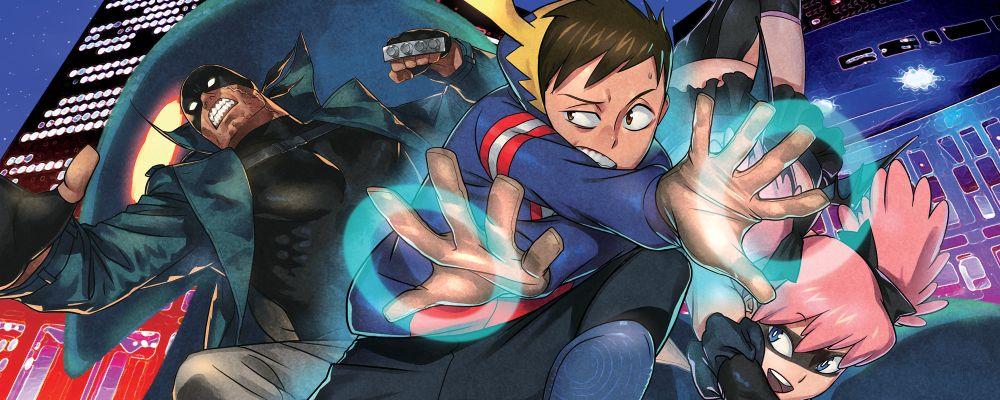 My Hero Academia Vigilantes Banner