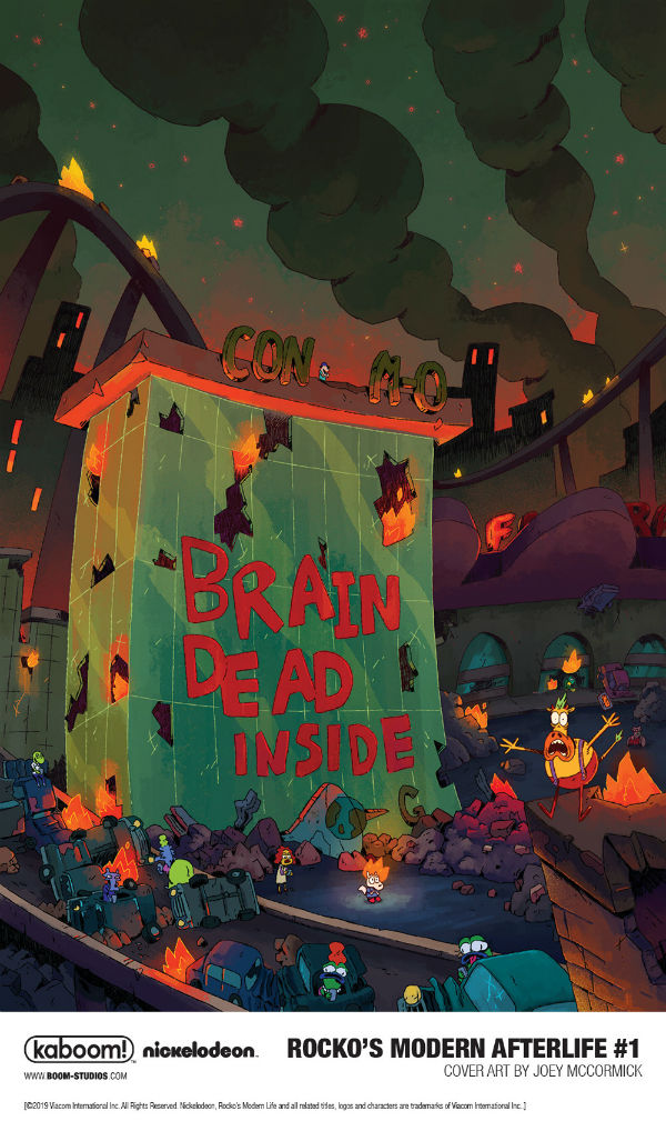 """""""Rocko's Modern Afterlife"""" Brings the Undead to O-Town"""