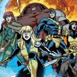 Uncanny X-Men 18 group shot