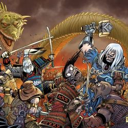 Usagi Yojimbo #1 / Ragnarök: The Breaking of Helheim 1 Featured