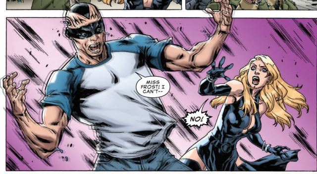 Uncanny X-Men 19 - Vanisher melts