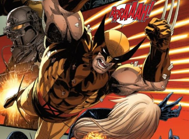 Uncanny X-Men 20 - Wolverine roars at emma
