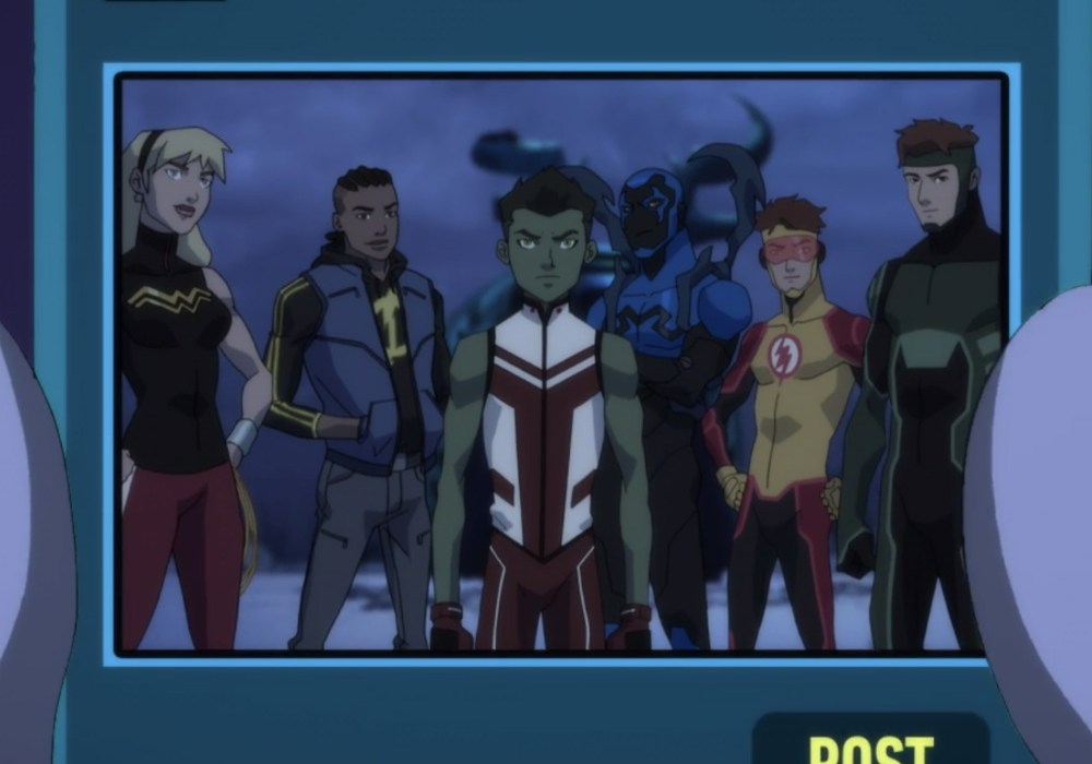 Young Justice Outsiders First Impression Featured