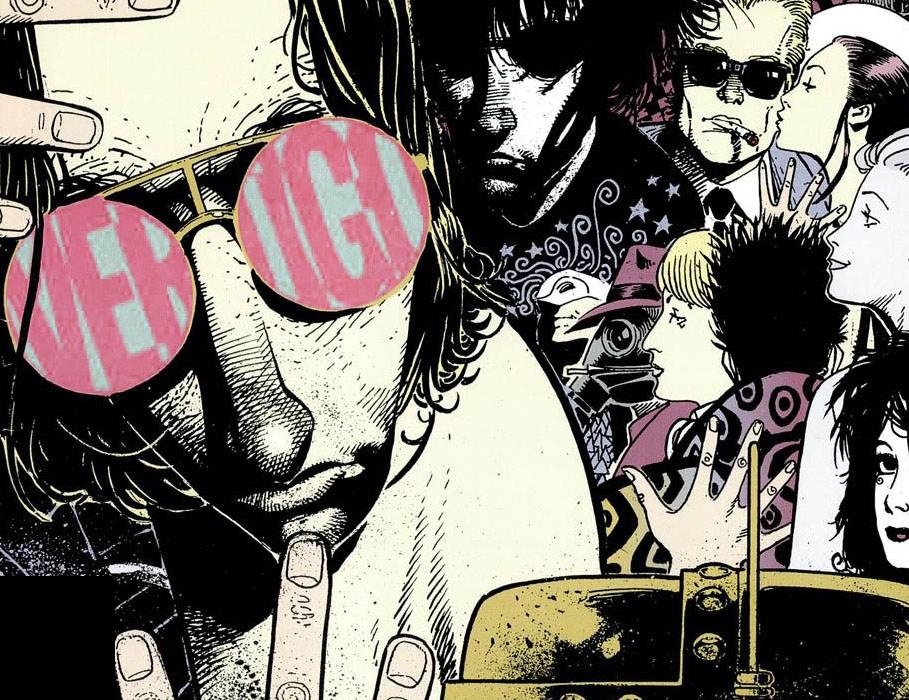 Comics Journal #163 - Vertigo by Chris Bachalo