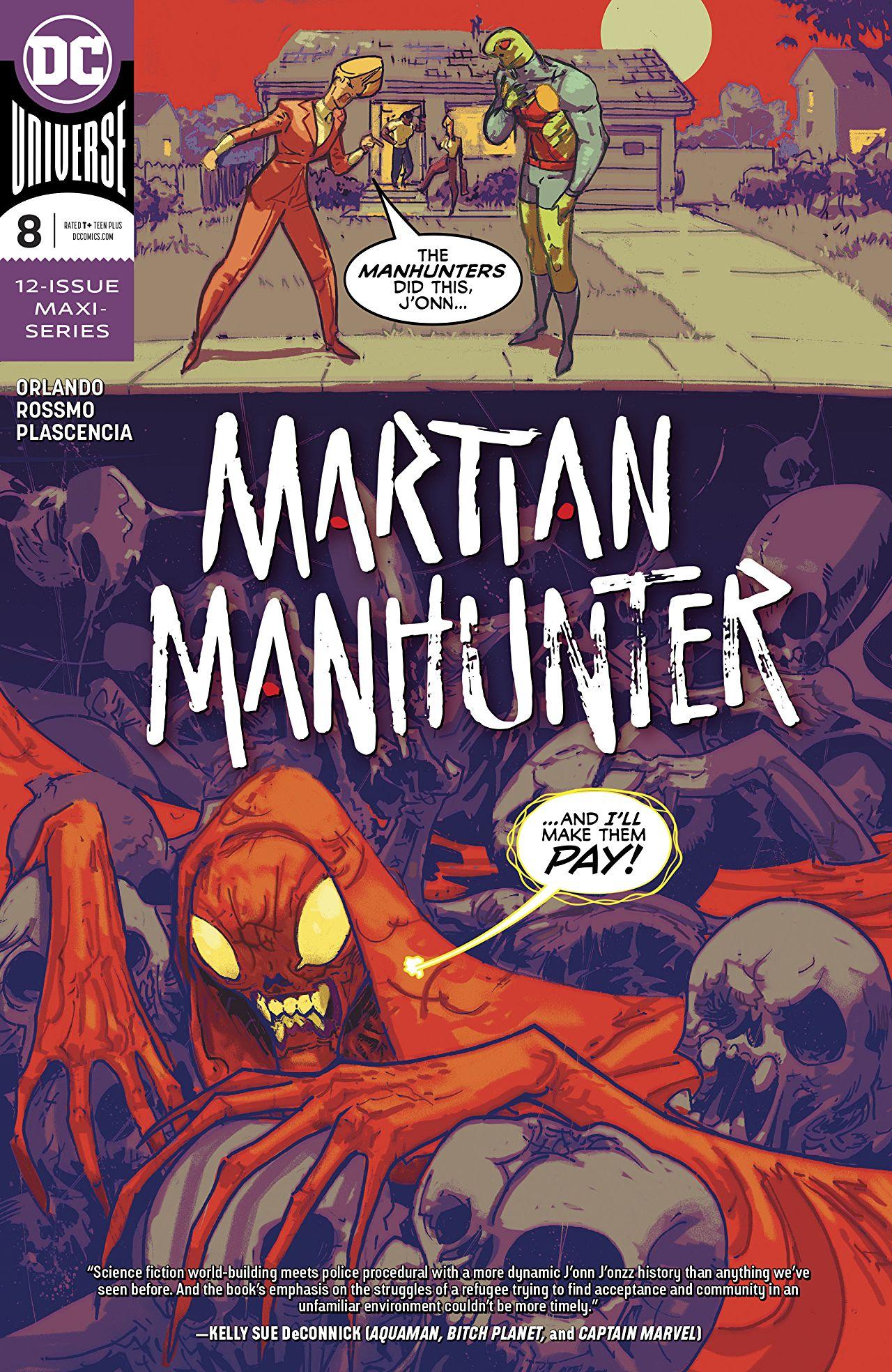 "Living A Childhood Dream: Steve Orlando on ""Martian Manhunter"""