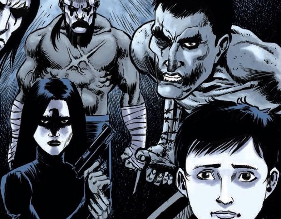 The Crow Hack Slash #2 Crows Featured
