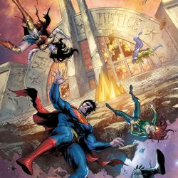 Justice League #39 featured
