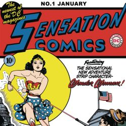 Sensation Comics #1 - featured