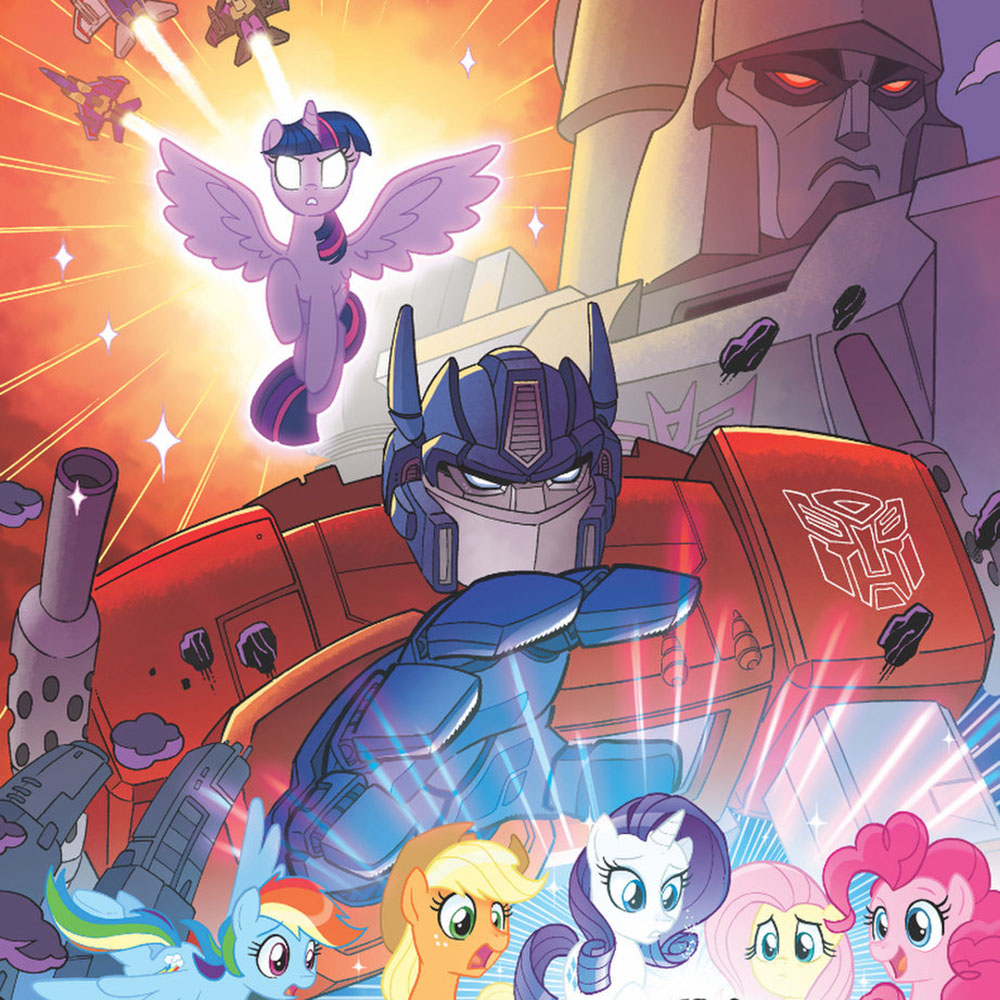 """idw announces """"my little pony  transformers"""