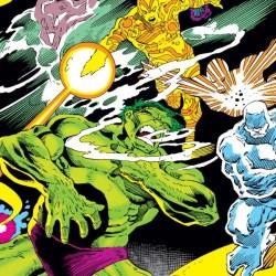 Incredible Hulk #305 by Mike Mignola