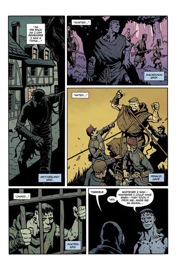 """""""Frankenstein Underground"""" #1 page 4"""