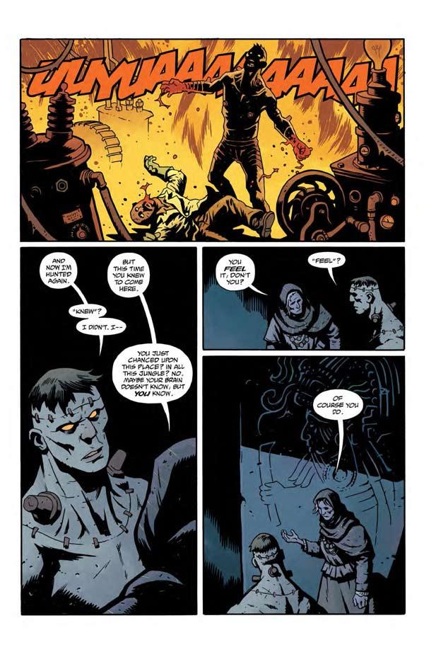 """""""Frankenstein Underground"""" #1 page 6"""