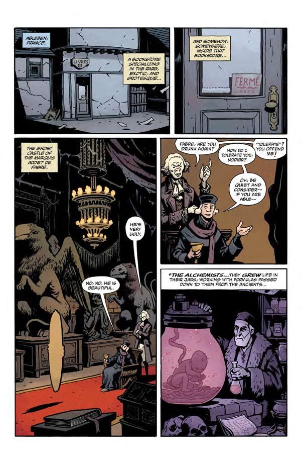 """""""Frankenstein Underground"""" #1 page 9"""