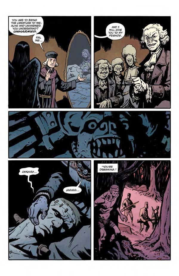 """""""Frankenstein Underground"""" #1 page 12"""