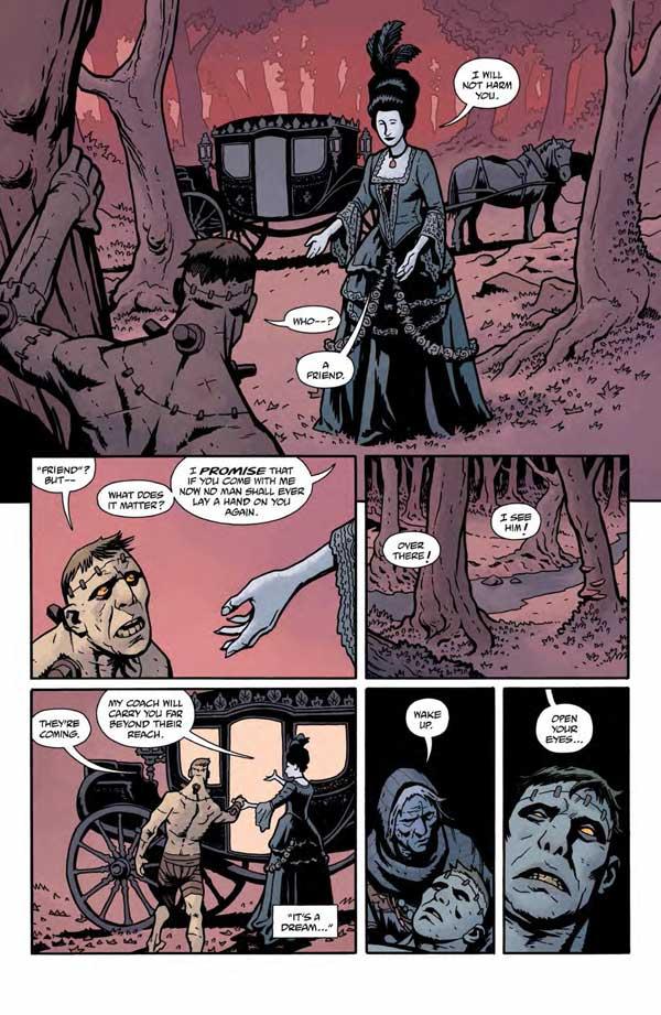 """""""Frankenstein Underground"""" #1 page 14"""