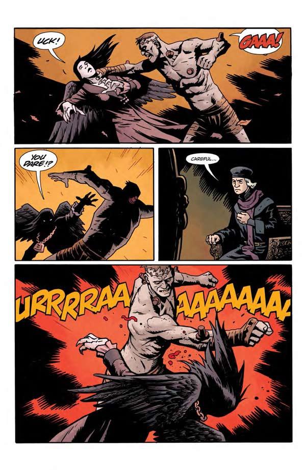 """""""Frankenstein Underground"""" #1 page 16"""