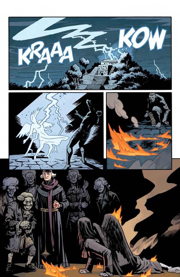"""""""Frankenstein Underground"""" #1 page 18"""