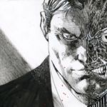 Exclusive: Two-Face is Jim Lee's Latest Charity Sketch