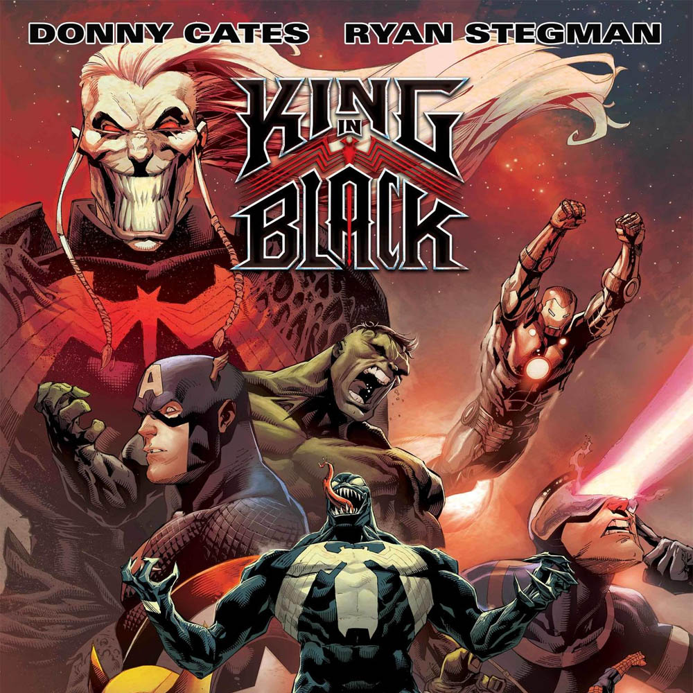 """Donny Cates and Ryan Stegman Unleash """"King in Black,"""" the New """"Venom"""" Crossover"""