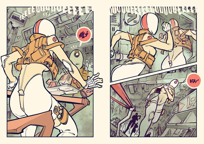 "EPHK's ""MAWRTH VALLIIS"" Takes Readers to the Martian Frontier –  Multiversity Comics"