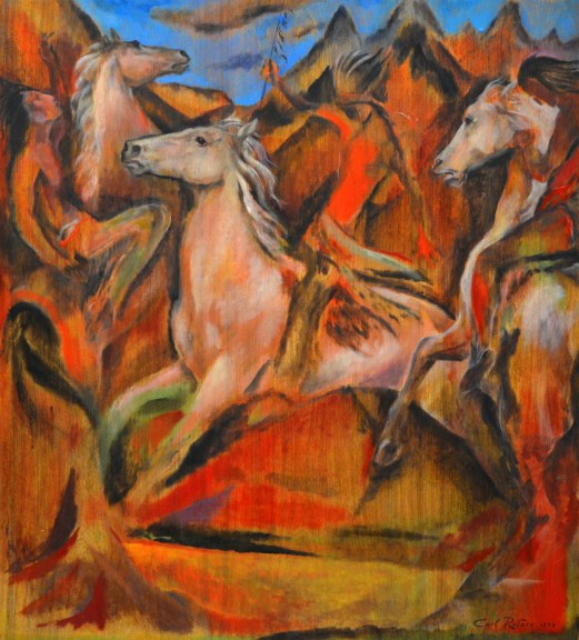 """""""Horses and Indians"""" by Carl Roters"""
