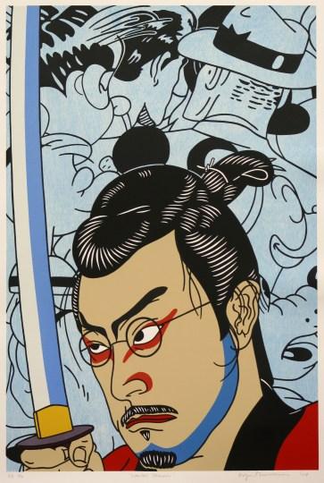 """""""Kansas Samurai"""" by Roger Shimomura"""