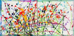 Abstract Flowers of Summer