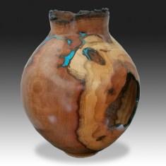 Black Jack Oak Vase