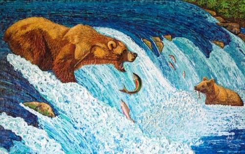 Brooks River Bears