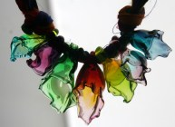 Glass Blow-Out Necklace