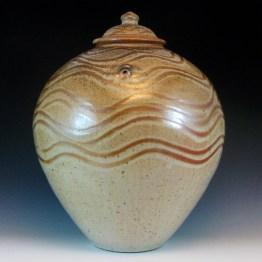 Large Shino Jar