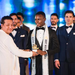 Nigeria Emmanuel Somto makes history in Thailand, Crowned Mister Model intl Africa