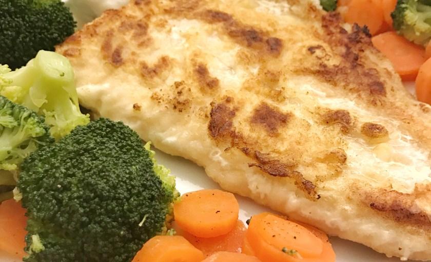 15 Minuten Fisch mit gedämpftem Gemüse