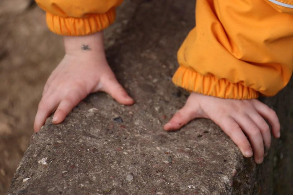 Schadet die Kita meinem Kind`Kinderhände