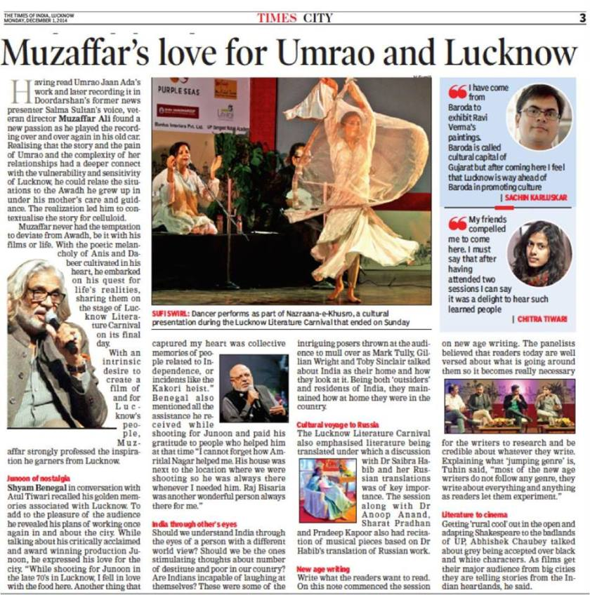 New Age Writing In The Times Of India