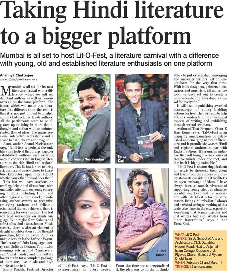 Taking Hindi Literature To A Bigger Platform