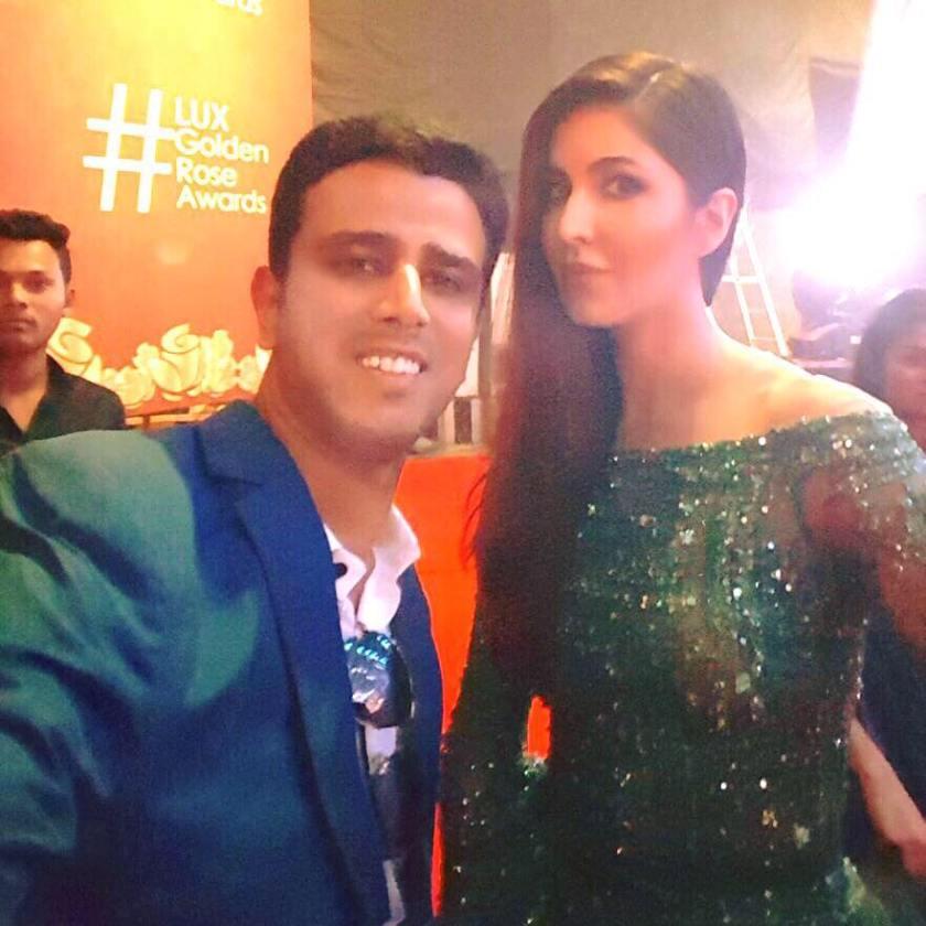lux-golden-rose-awards with Faraaz Kazi