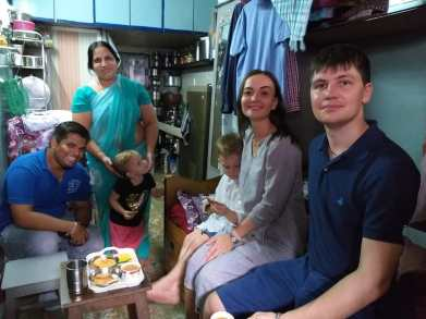 Home Visit in Dharavi slum Tour