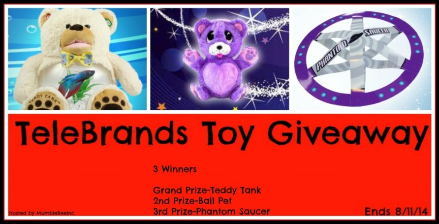 #TeleBrands Toy Giveaway