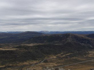View from the top of the Tablelands.