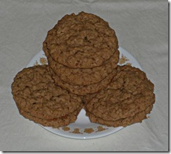 Oatmeal Cow Pie Cookies