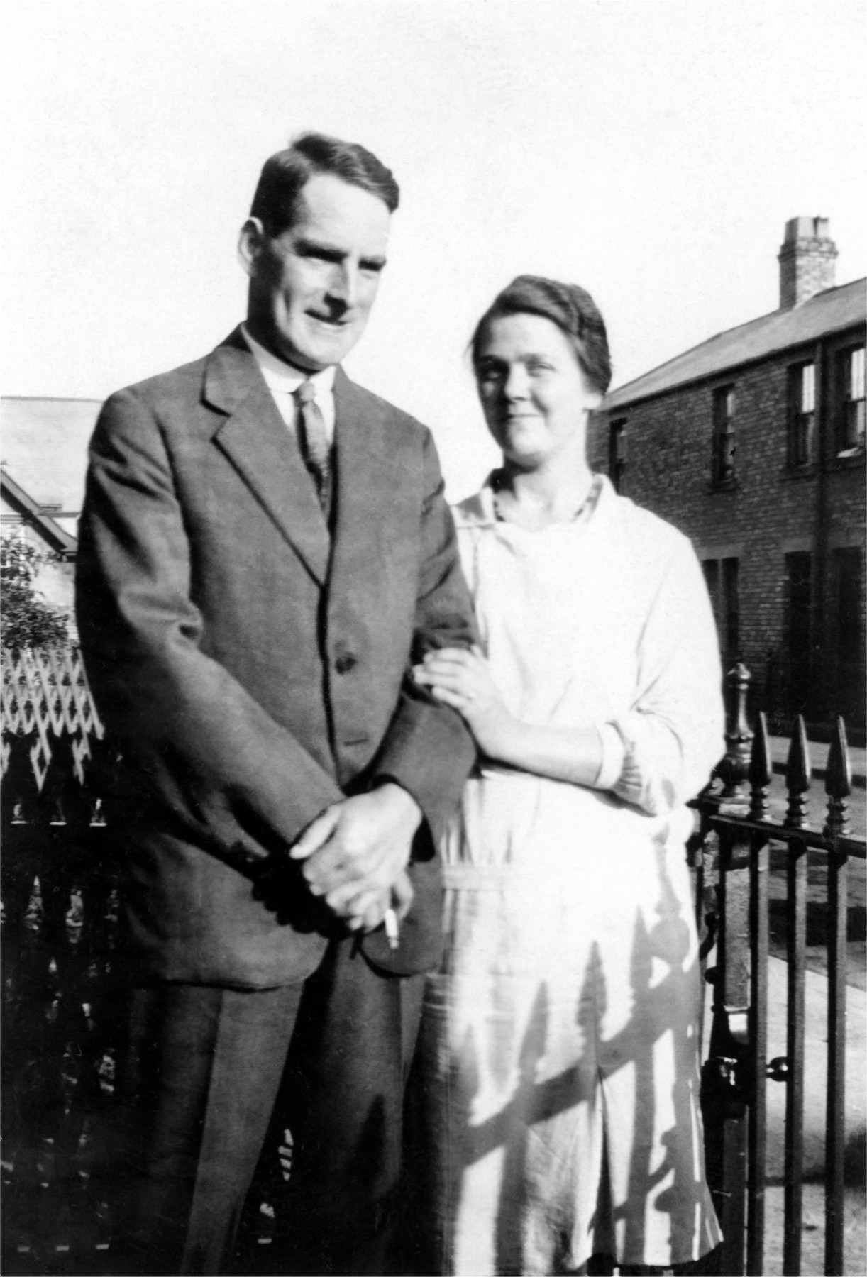 John and Florence Weallans - George's parents (1920s)