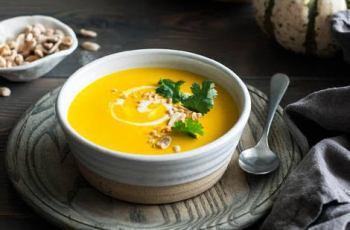 Vegan Thai Pumpkin Soup