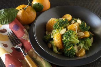 Broccoli with Orange- Chile recipe